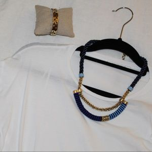 Blue marine collar - Stella & Dot